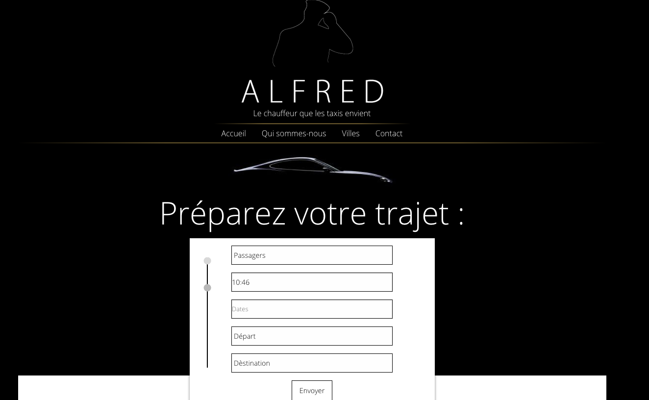 Acceuil d'Alfred