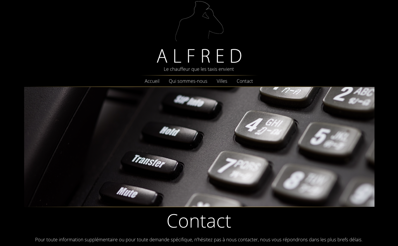Contactez Alfred