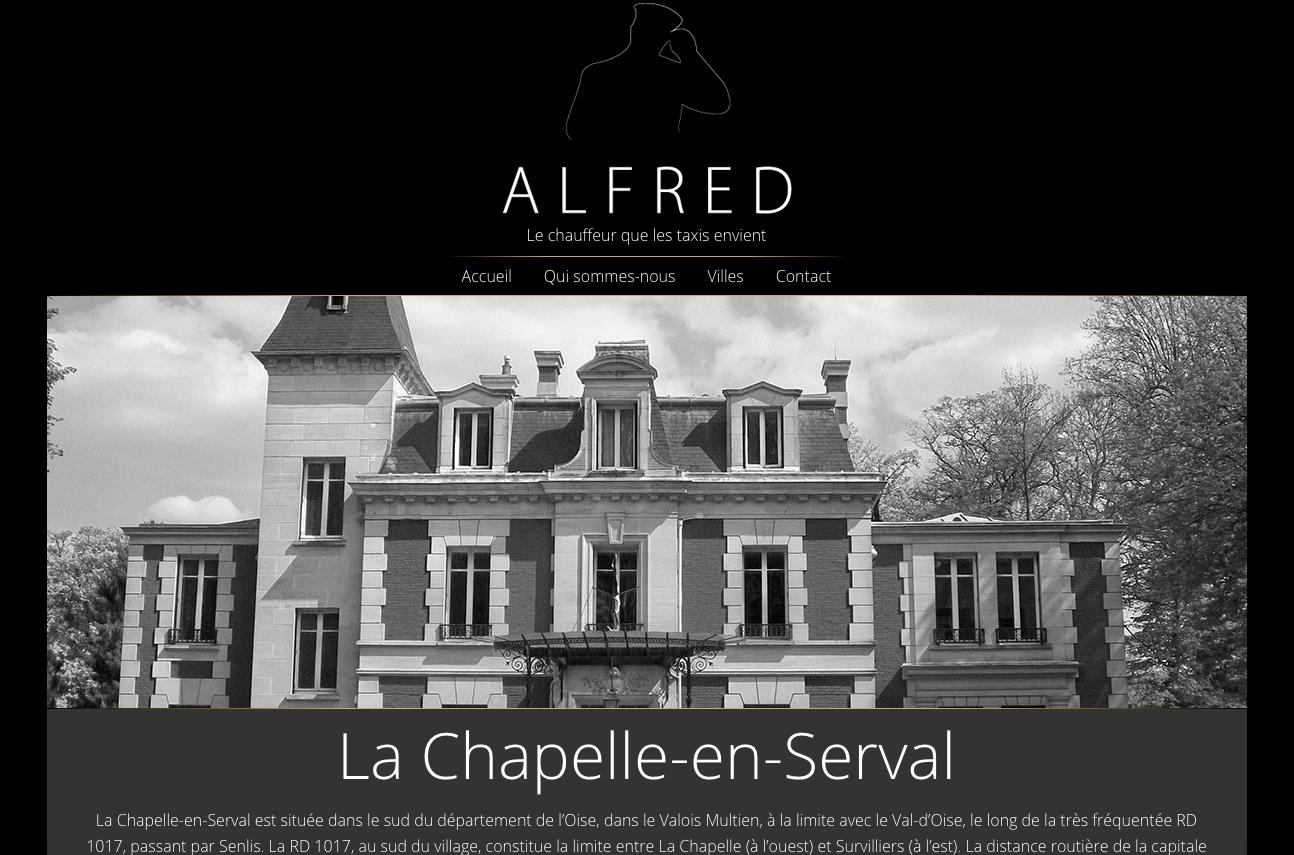 Trajet en départ de La Chapelle en Serval