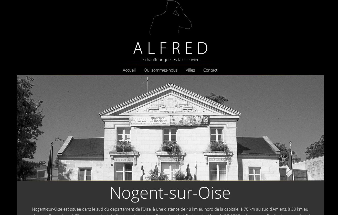 Trajet en départ de Nogent-sur-Oise