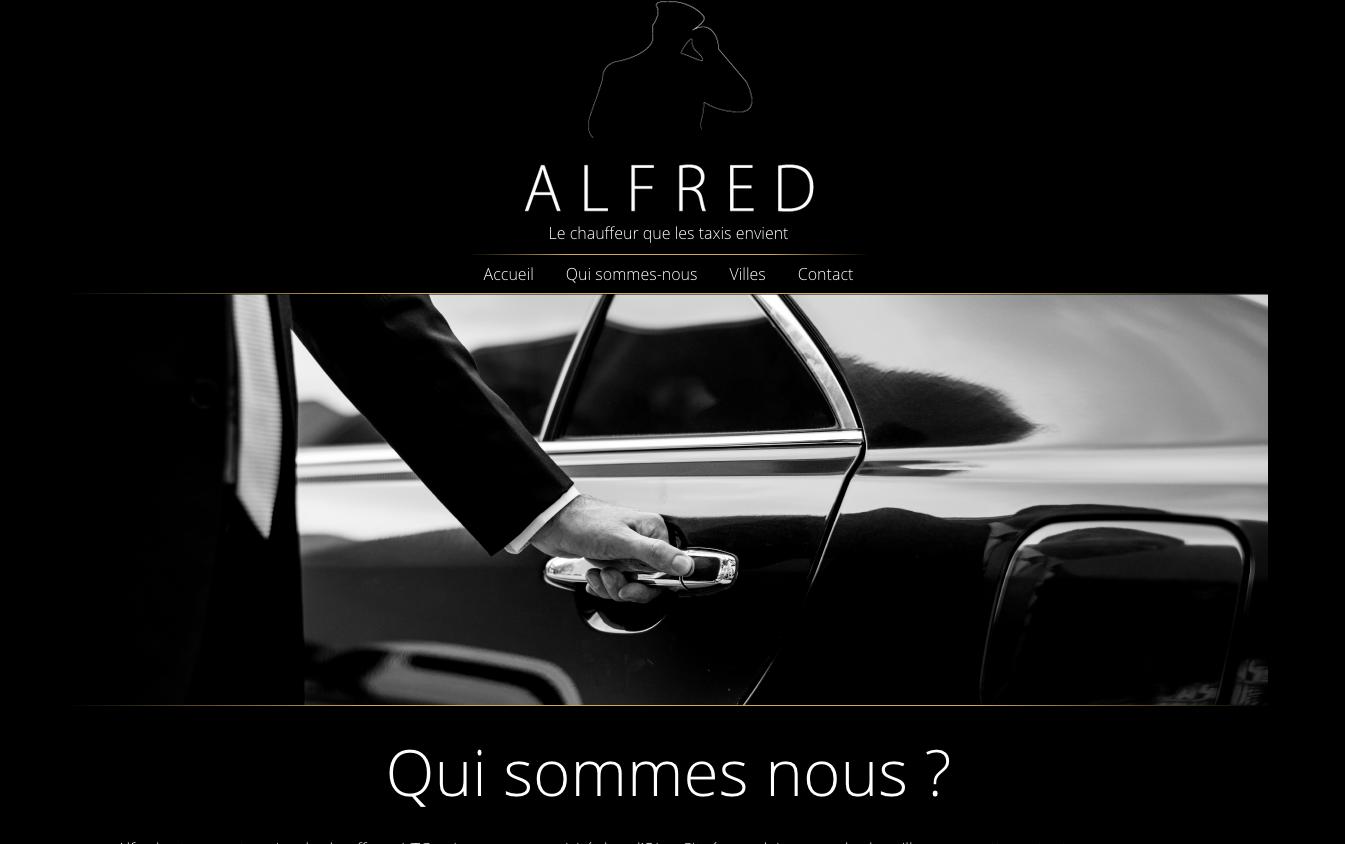 Alfred le chauffeur