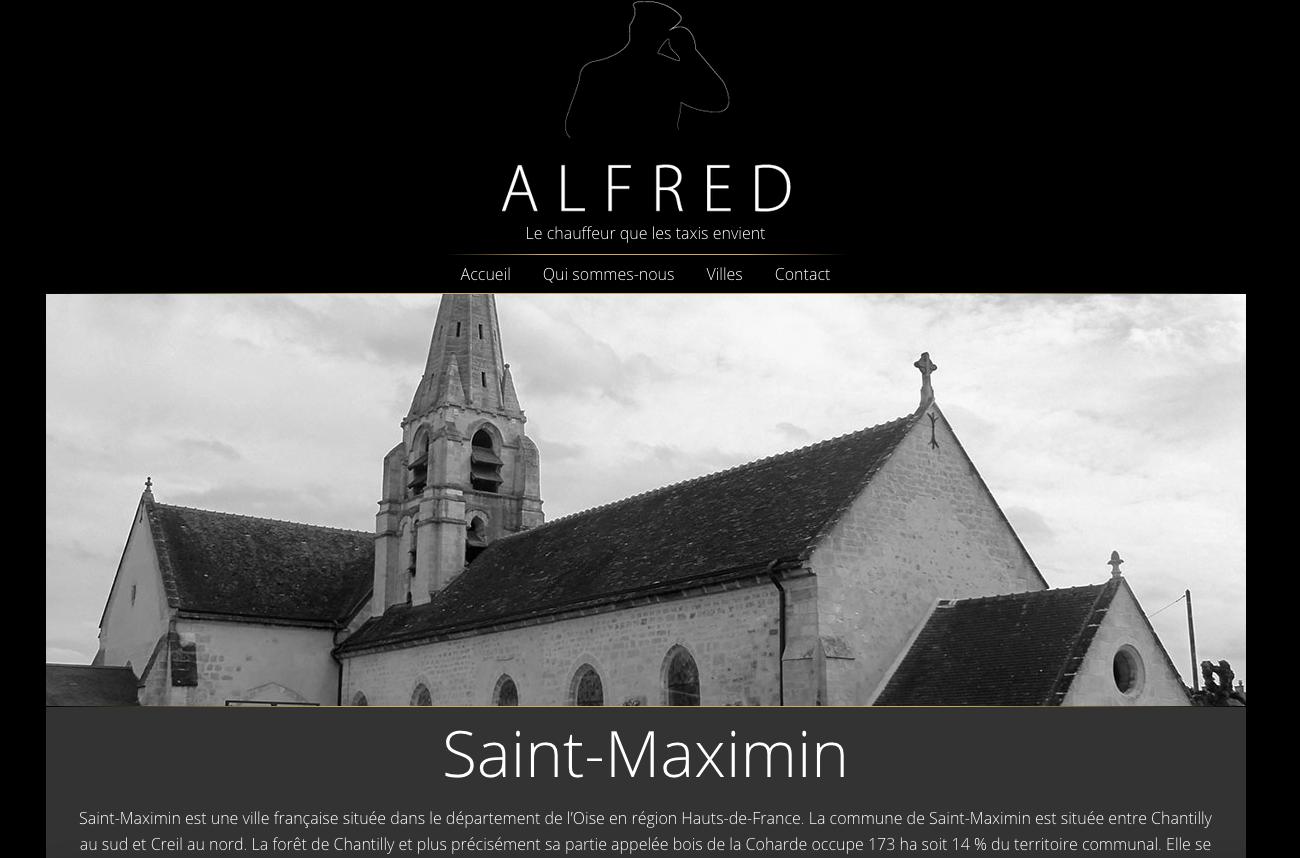 Trajet en départ de Saint-Maximin